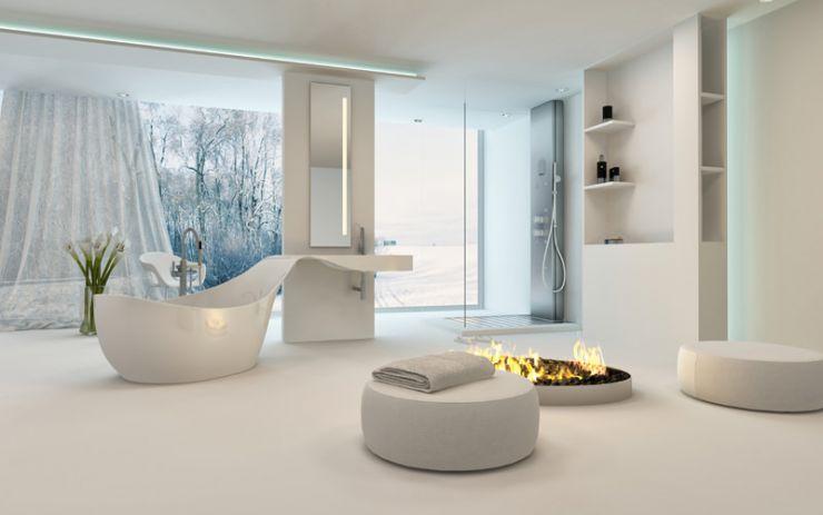 Die Freistehende Badewanne Im Schlafzimmer Calmwaters De